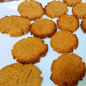 簡単♪ しっとり おから&きなこクッキー
