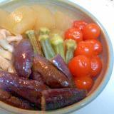 冬瓜とうすあげの冷やし鉢