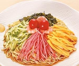 楽天マート☆こだわり中華麺の冷やし中華セット