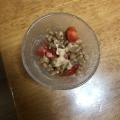 納豆トマトサラダ