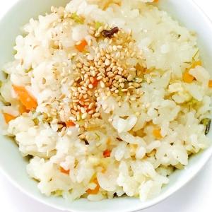 早炊きで簡単☆新生姜とワラビの炊き込みご飯