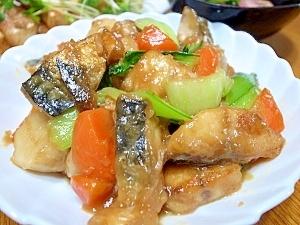 サバと里芋のこっくりうま煮