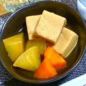 煮汁がジュワッ★高野豆腐と野菜の煮物