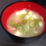 桜海老のお味噌汁