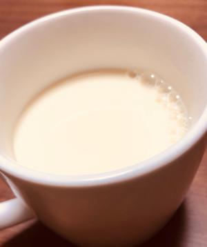 生姜はちみつホットミルク