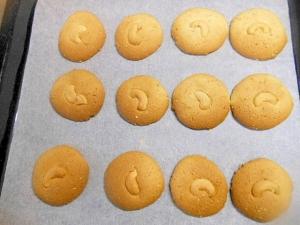 HMで★胡麻とカシューナッツのクッキー★