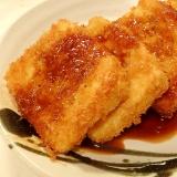 冷凍豆腐で★とんかつ風フライ