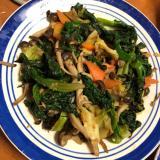 鉄分豊富な野菜炒め