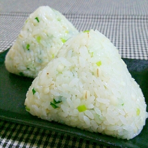 中華なネギ麦ご飯
