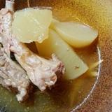 圧力鍋で スペアリブと大根の煮物
