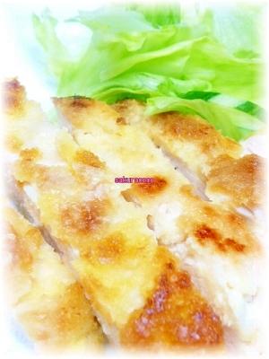 鶏ムネ肉の柔らかチキンカツ*カロリーオフ*揚げ焼き