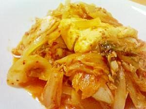 簡単で美味しい!ツナ味のキムチチゲ(チャムチチゲ)