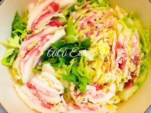♡簡単美味♪豚バラとクタクタ白菜のミルフィーユ鍋♡