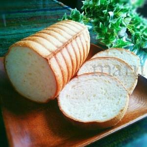 減塩対応☆トヨ型小にピッタリ分量♡ラウンドパン♡