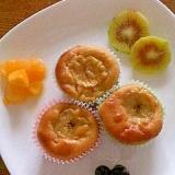 バナナマフィン 大豆粉でグルテンフリー