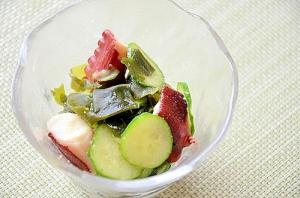 ☆減塩レシピ☆ 生姜でピリッとさっぱり酢の物