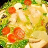 どんこ☆味噌鍋