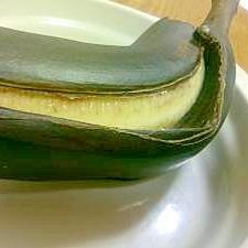 トースターでほんのりあまい♪焼きバナナ