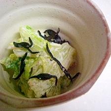 ひじきと白菜の和風マヨ和え