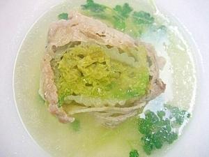 豚肉巻き白菜