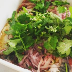 【糖質制限・作り置き】塩サバと薬膳野菜のマリネ
