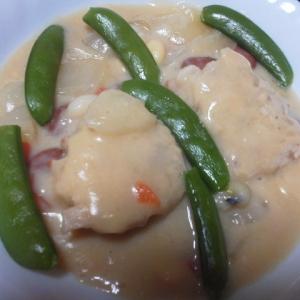 鱈の豆乳味噌煮