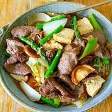 炒め肉豆腐