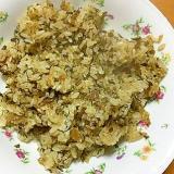 辛子高菜チャーハン(ショウガチーズ味)