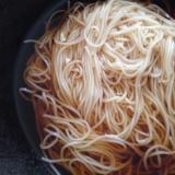 醤油にゅう麺