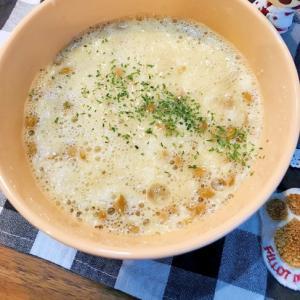 ご飯に合う山芋✖️納豆で簡単ネバネバツルツルとろろ