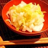 白菜使い切りレシピ、白菜のしゃっきりナムル