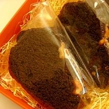 チョコっとブラックなケーキ