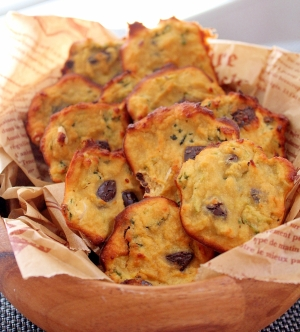 ゴーヤとビターチョコのほろにがココナッツクッキー