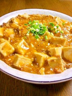 市販の素でも美味しく!麻婆豆腐の作り方