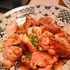 エスニック鶏もも焼き☆食るラー油とポン酢で簡単!