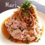 【ポリ袋で✨ヘルシー】❤︎鶏胸肉の油淋ソース