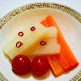 常備菜!大根と人参とミニトマトのピクルス