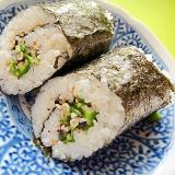 ゆかりオクラの巻き寿司