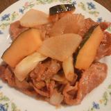野菜3種のジンギスカン