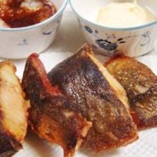 焼き魚に飽きたら、ほっけの素揚げ