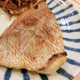 さっぱり美味しい♪鯛の梅塩焼き