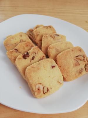 さくさくナッツクッキー