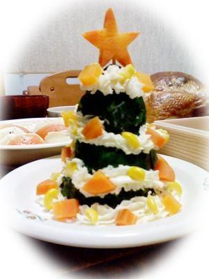 ★クリスマスツリー★ ポテトサラダ