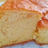ホットケーキミックスで作るシフォンケーキ