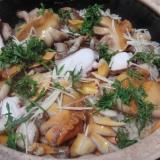 赤貝とタコの炊き込みご飯