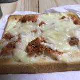 タラコのチーズトースト
