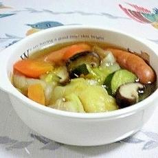 野菜がたっぷり、簡単ポトフ~♪