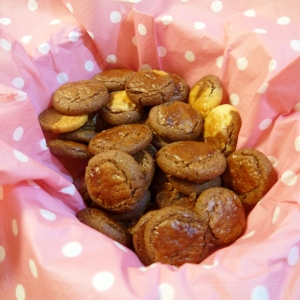 ココアと黒ゴマのクッキー(軽くてサクホロ。)