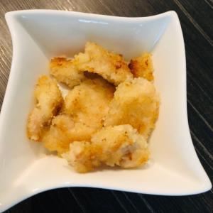 【お弁当◎鶏むね50g】卵不使用 焼きチキンカツ