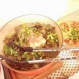 大根とツナ、香味野菜の和風サラダ